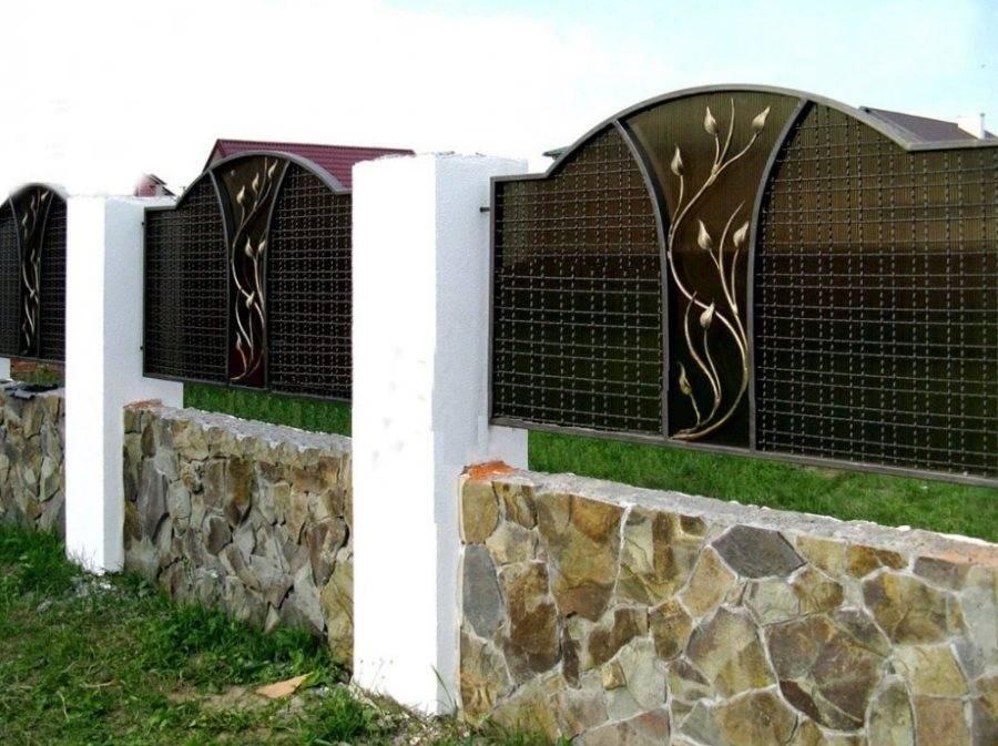 Заборы для частного дома ⋆ domastroika.com