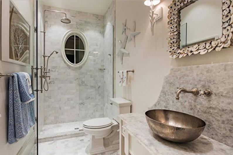 Cовременные идеи дизайна ванной комнаты