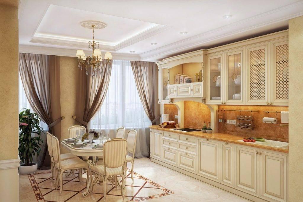 Кухня в классическом стиле: 110+ реальных фото интерьеров