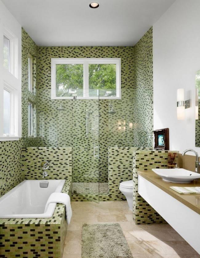 Плитка для современной ванной (100 фото) - дизайн, виды, правила выбора