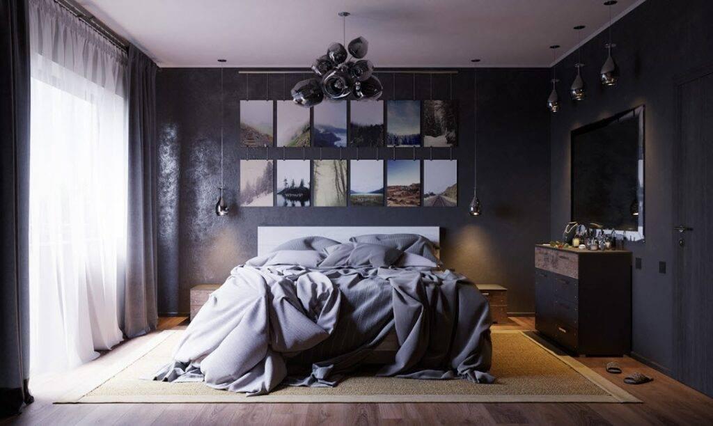 Спальня в стиле лофт – 100 фото дизайна интерьеров в различных строениях + возможные размеры и цвета