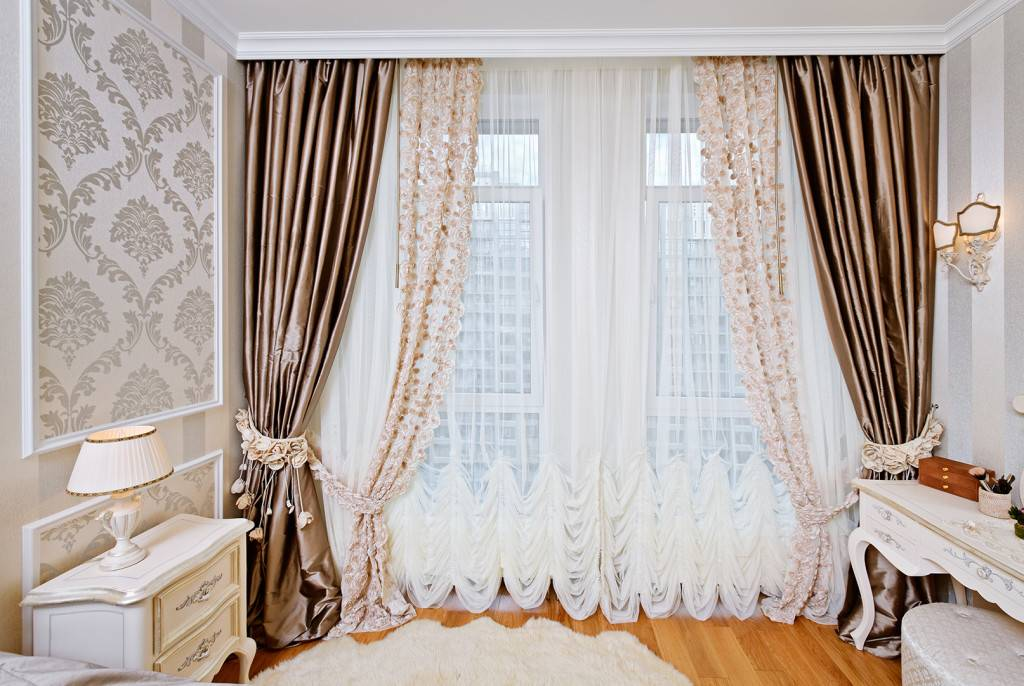 Новинки штор для гостиной 2021 года - 200 фото лучших идей дизайна и оформления