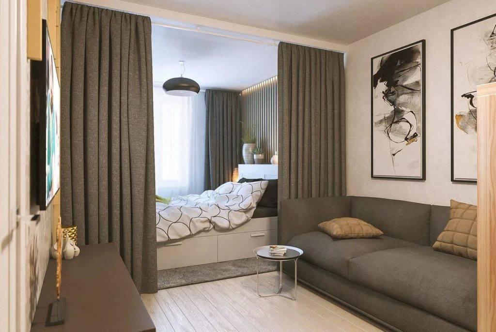 Спальня-гостиная — лучшие идеи планировки и зонирования совмещенной спальни. фото лучших идей, как совместить два интерьера