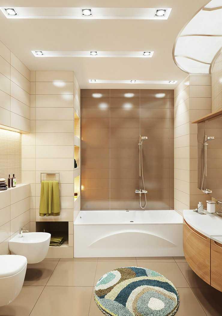 Бежевая ванная: 150 фото сочетаний бежевого цвета в оформлении и дизайне ванной комнаты