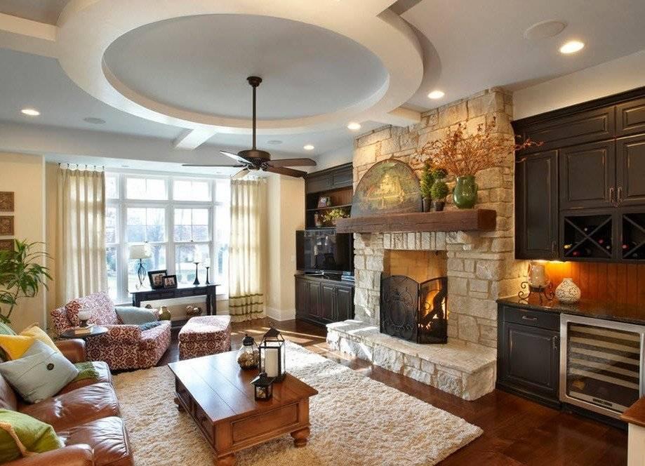 Дизайн кухни-гостиной. правильное зонирование и фото проектов