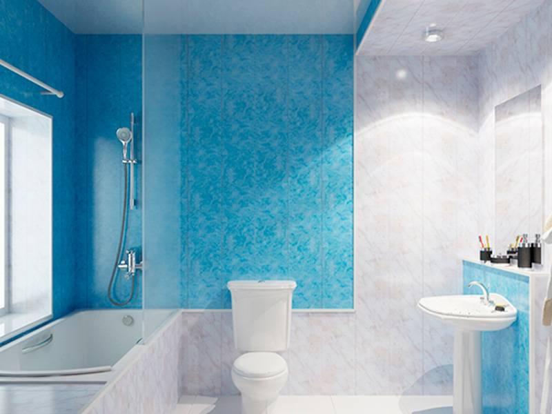 Ремонт туалета своими руками: отделка стен и потолка панелями пвх (30 фото)