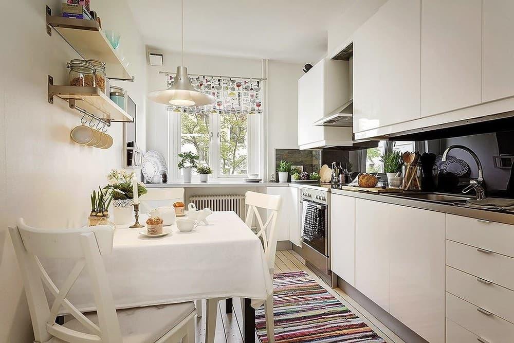 Кухня 6 м2: красивые идеи дизайна (90 фото)