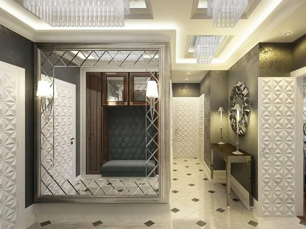 Зеркало в интерьере квартиры: 290+ (фото) больших & маленьких