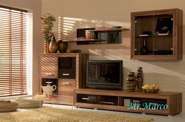 Особенности оформления дизайна гостиной с мебельной стенкой