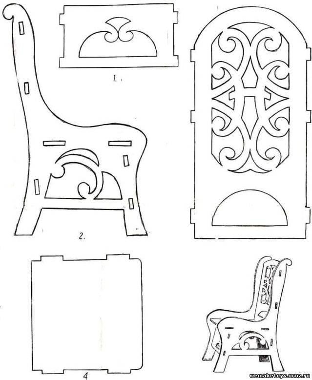 Поделки из фанеры - особенности изготовления поделок своими руками лобзиком (115 фото)