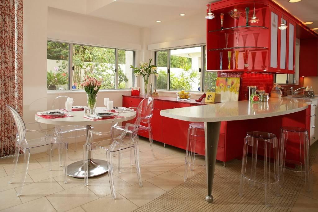 Кухня в голубых тонах: подходящие стили, сочетание оттенков, идеи оформления и декора