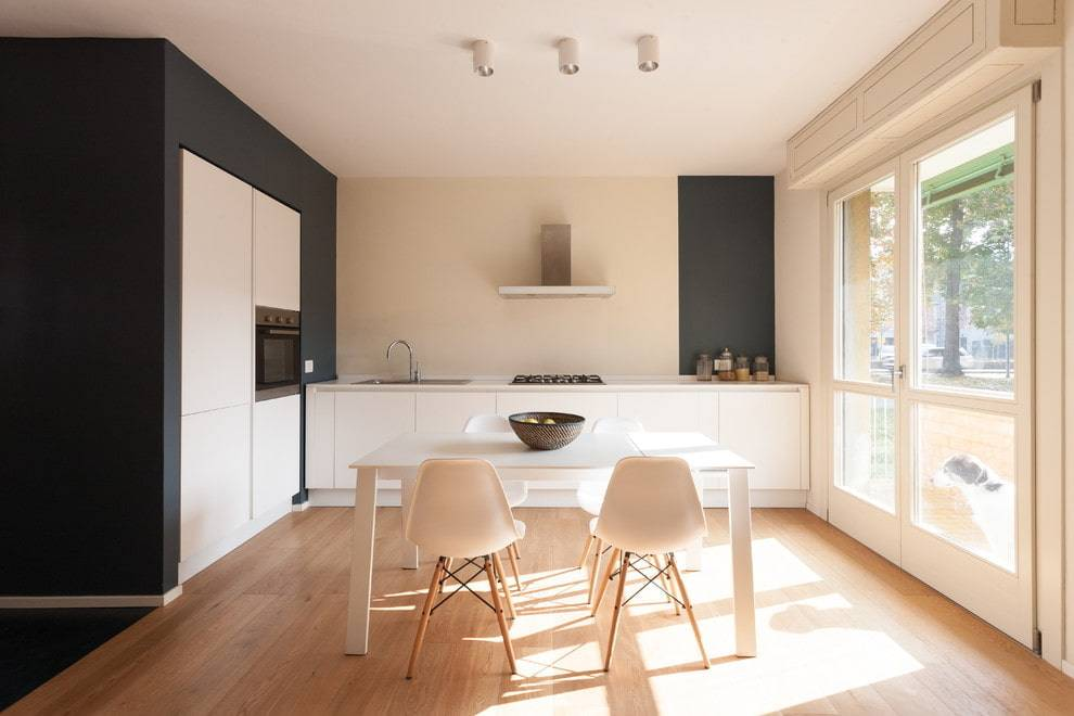 Минимализм в интерьере кухни – дизайн и ремонт с нуля (50 фото)