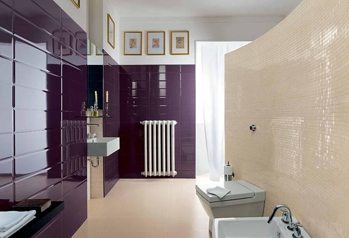 Какая плитка лучше - матовая или глянцевая для ванной комнаты?