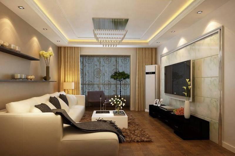 Натяжные потолки для зала: 90 фото идей дизайна интерьера и моделей