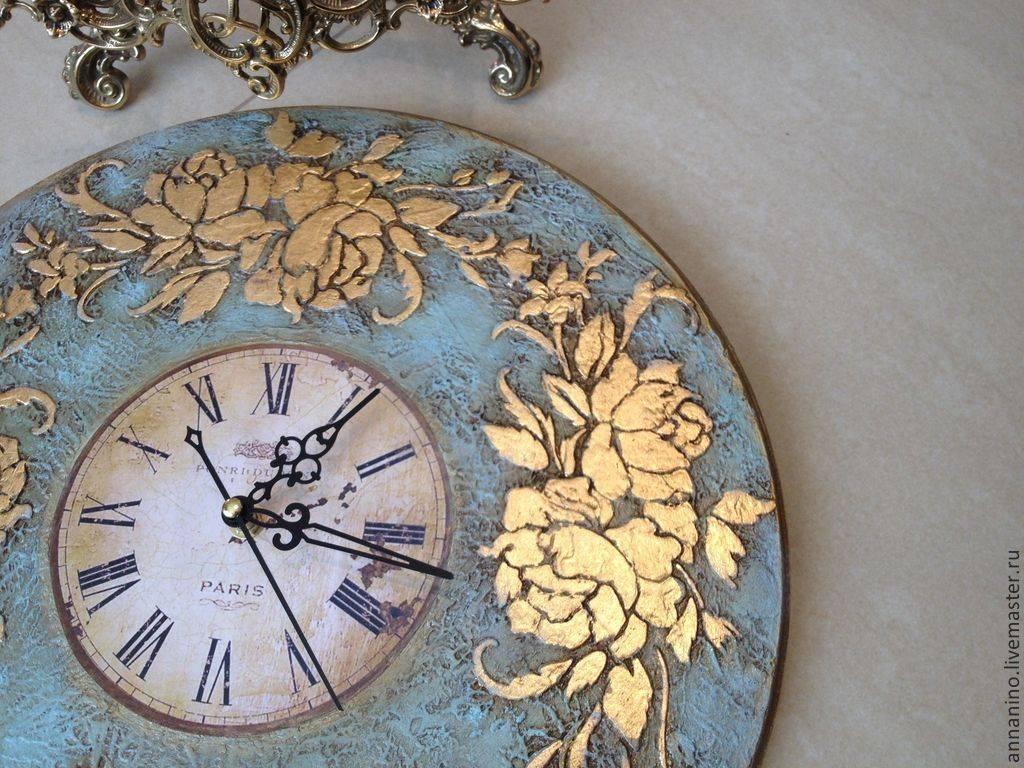 Часы своими руками: 105 фото и пошаговое описание как изготовить самодельные часы