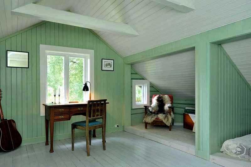 Как покрасить вагонку в доме: идеи декора как красиво использовать материал, фото примеров