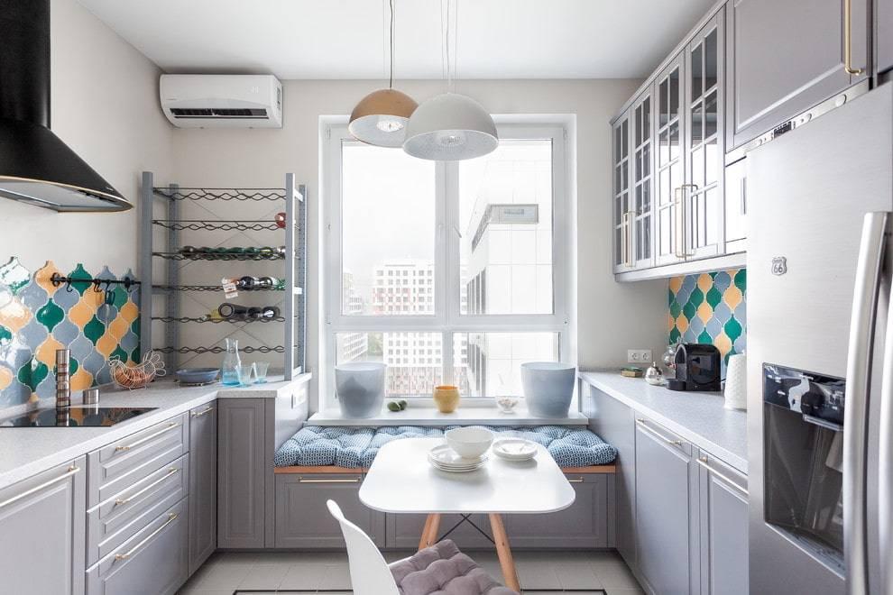 Прямая кухня 3 метра в длину: линейный проект с холодильником и размерами  - 32 фото