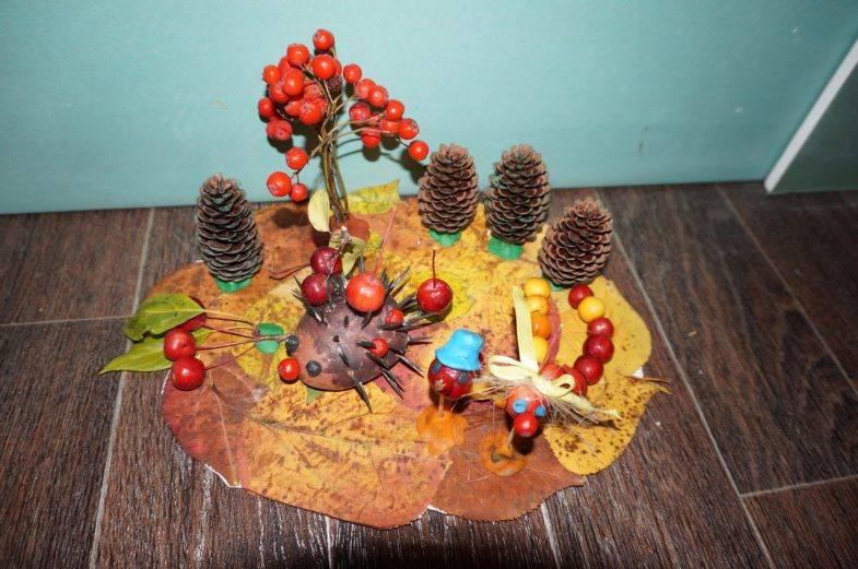 Поделки из природного материала - делаем своими руками красивые поделки из подручных материалов