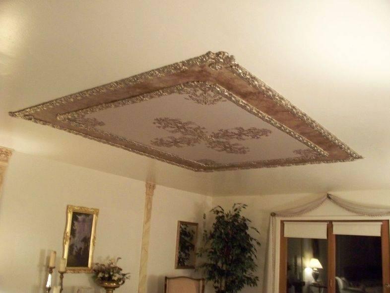 Лучшие варианты, как сделать декор потолка своими руками