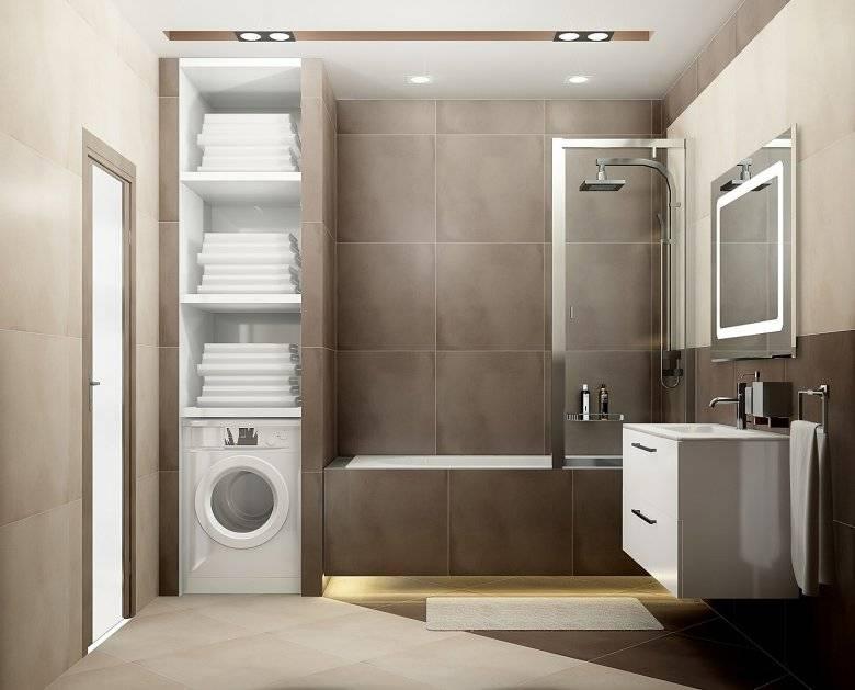 Дизайн ванной 2 на 2 метра: советы по оформлению интерьера +75 фото