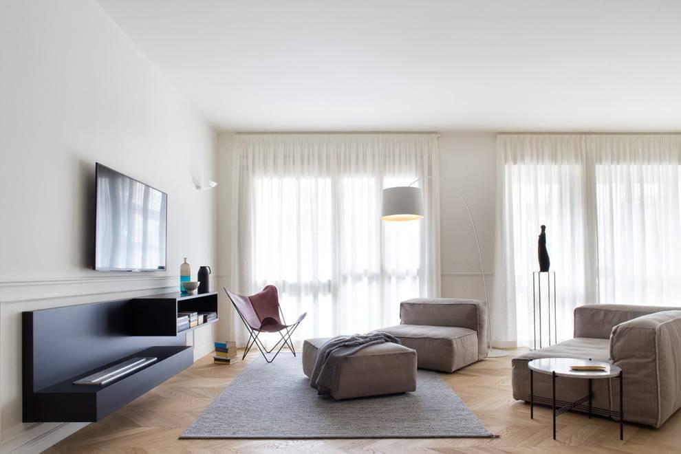Дизайн интерьера в стиле контемпорари (100 фото) - идеи оформления, отделки и декора