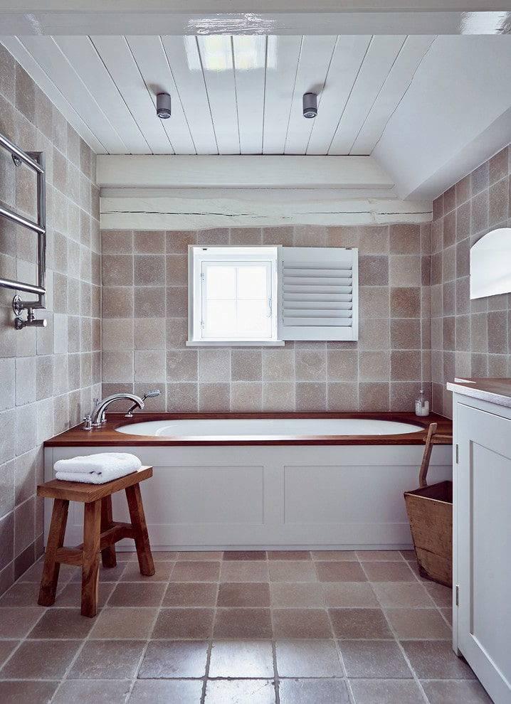 Потолок для ванной комнаты: выбираем какой лучше