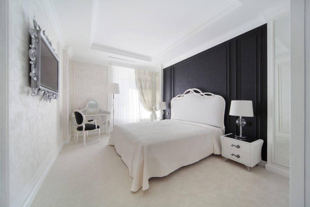 Дизайн спальни в современном стиле: идеи интерьера, реальные фотографии, как оформить недорого, просто и со вкусом, красивая мебель - 43 фото