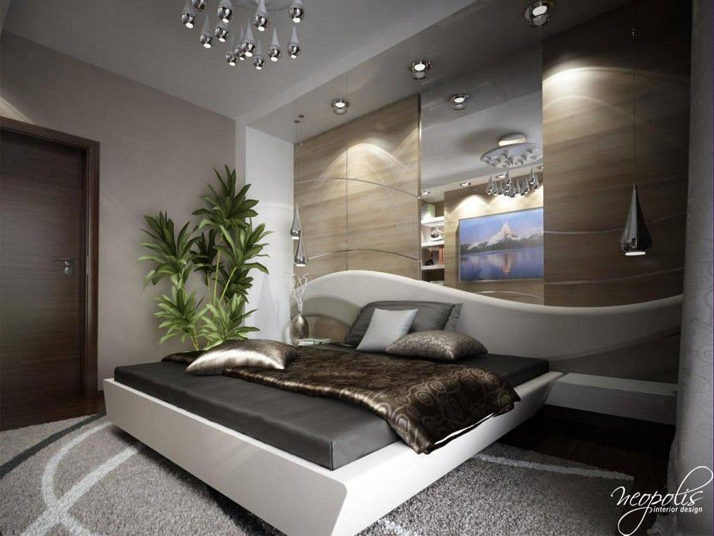 Дизайн спальни модерн минимализм