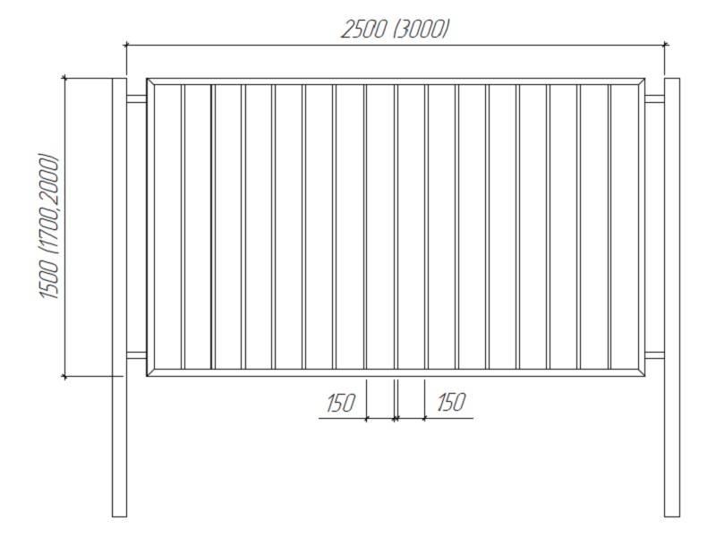 Сварные заборы (70 фото): секционные варианты из профильной трубы, как сварить секции для ограждения