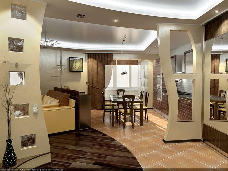 Кухня совмещенная с гостиной - 90 фото идеальной планировки и дизайна