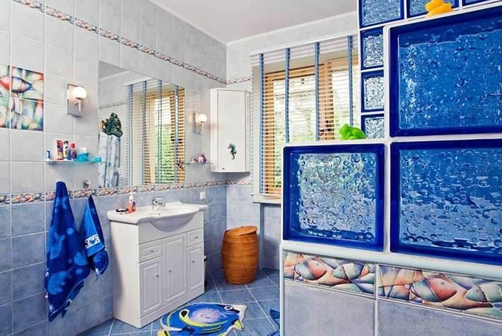 Ванная в морском стиле: особенности декора и варианты стильного оформленияварианты планировки и дизайна