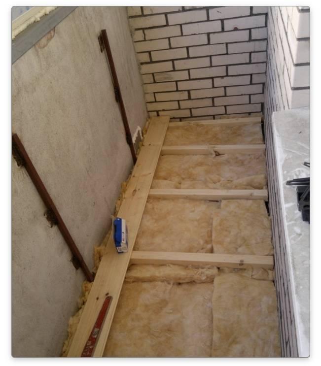 Пол на балконе из чего сделать - варианты для разных условий эксплуатации - sport-at-home
