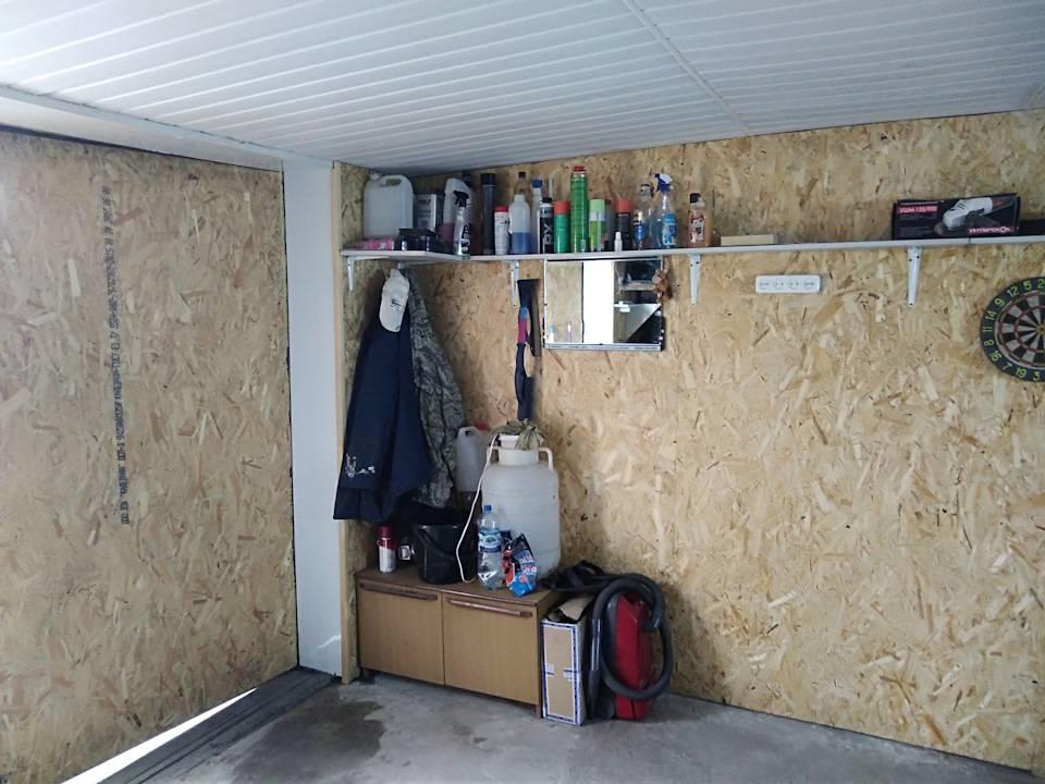 Отделка гаража внутри: подбор материала и порядок выполнения работ