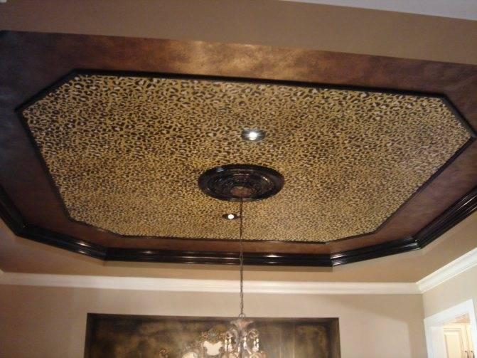 Декор потолка своими руками - декорирование потолка | стройсоветы