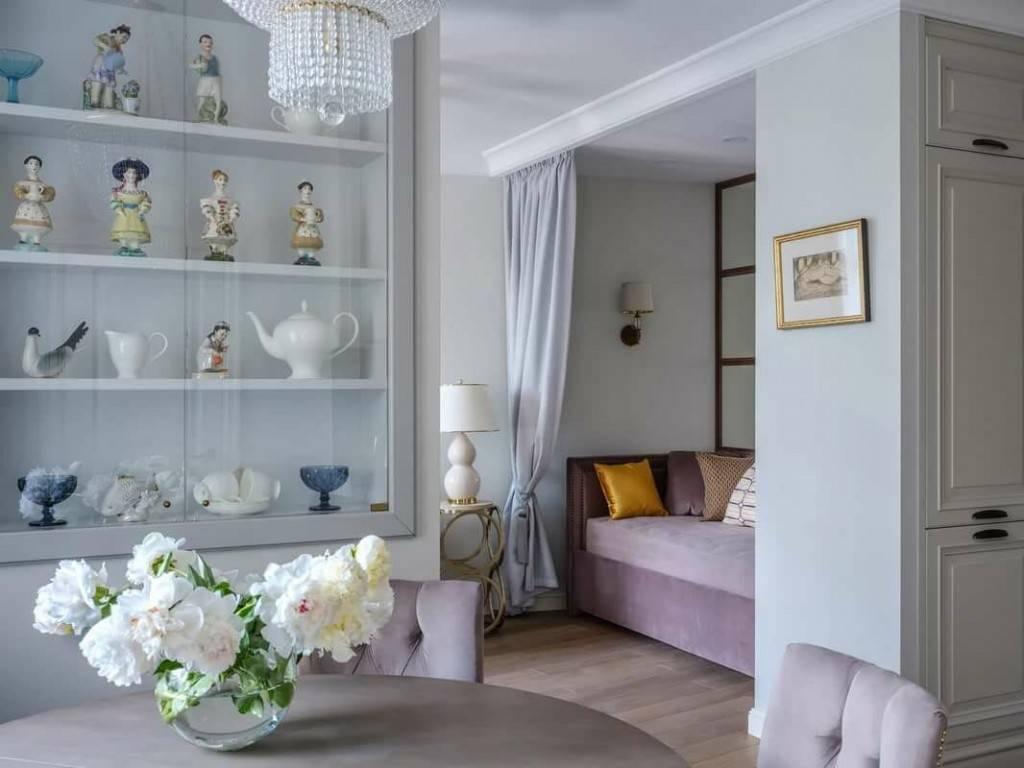 Квартира студия в различных стилях (60 фото): дизайн интерьера в скандинавском стиле «лофт»  и «прованс», «хай-тек» и «минимализм», «ампир» и «модерн»