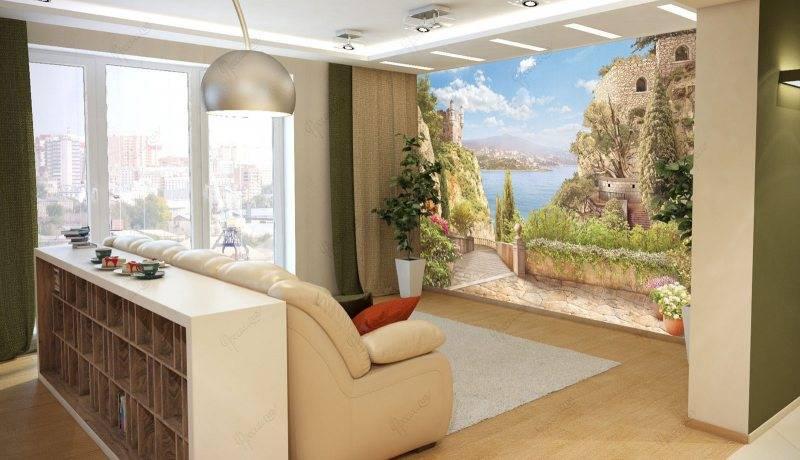 Оформление стен в гостиной — 115 фото новых идей