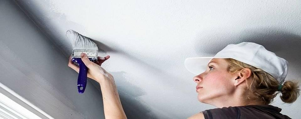 Чем покрасить потолок на кухне. факторы, определяющие особенности малярных работ. типы покрытий, актуальных в кухонном помещении