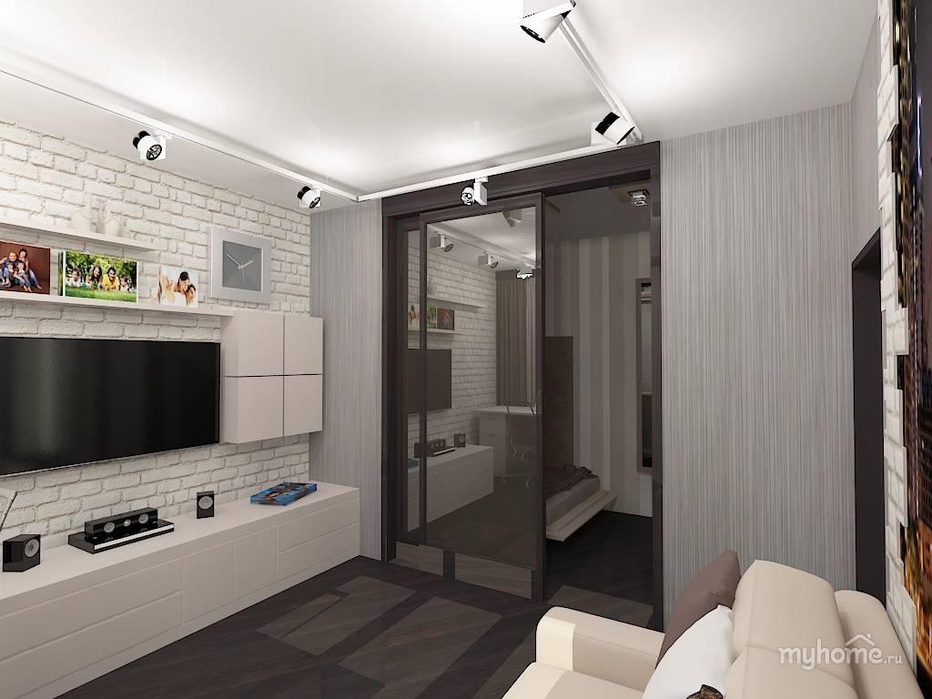Дизайн квартиры 35 кв. м. — 70 фото идеального сочетания в интерьере