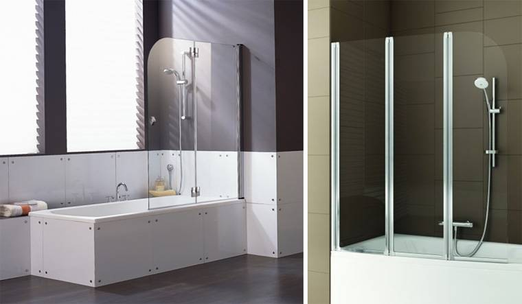 Перегородка для ванной (150 фото): виды, идеи дизайна и зонирования ванной комнаты