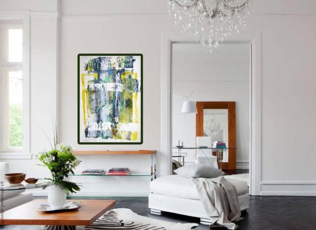 Фрески в интерьере – виды современных изделий, варианты использования их в интерьерах разных комнат - 23 фото