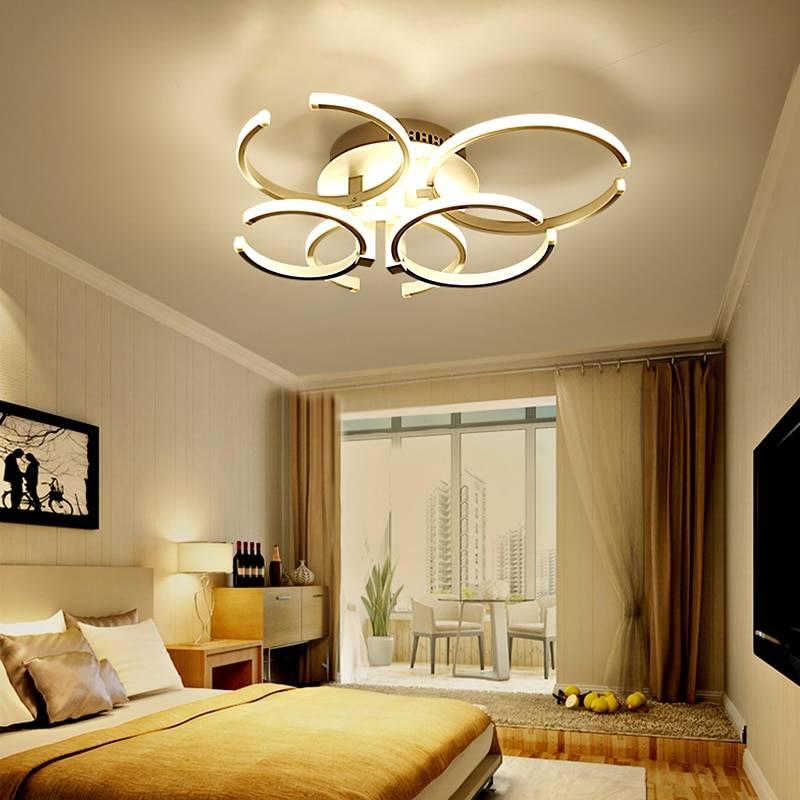 Светильники в спальню: реальные примеры расположения, фото модных новинок потолочных, настенных, прикроватных светильников