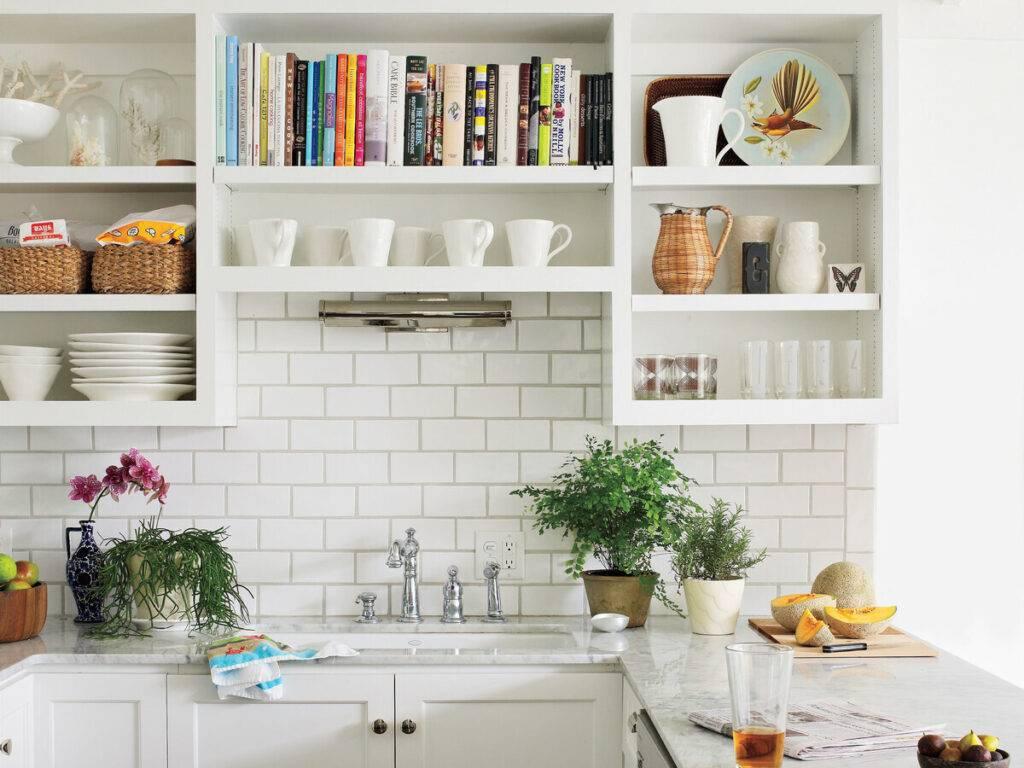 Кухонные полки: лучшие идеи дизайна (60 фото) | современные и модные кухни