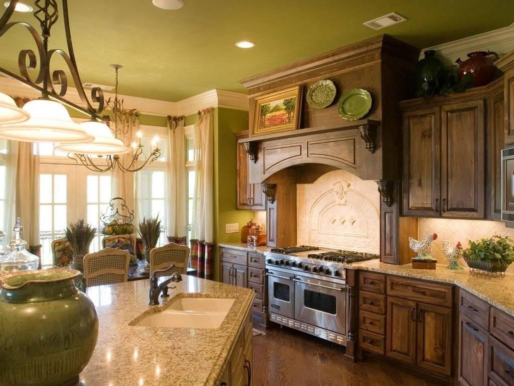 Дизайн кухни в стиле кантри — особенности интерьера +75 фото - «стили»