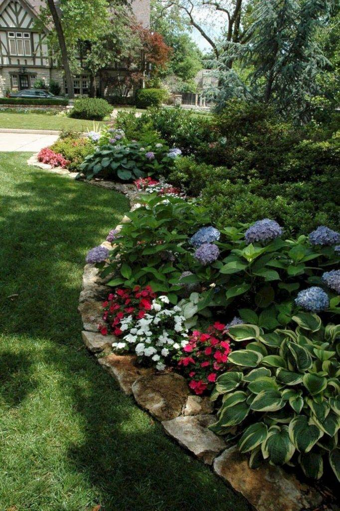 Как сделать экономный дизайн садового участка?