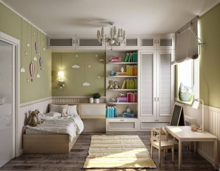 Варианты дизайна комнаты площадью 9 кв.м