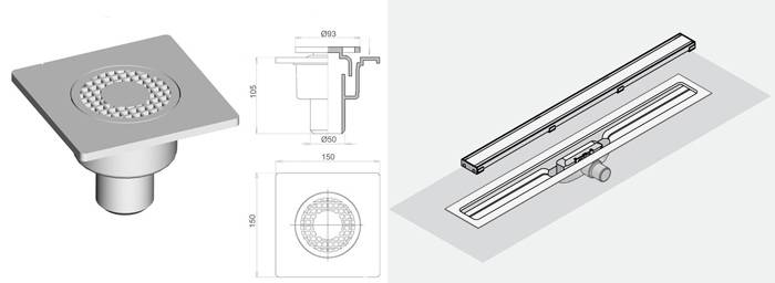 Как обустроить слив для душа в полу в ванной комнате: пошаговый инструктаж по монтажу