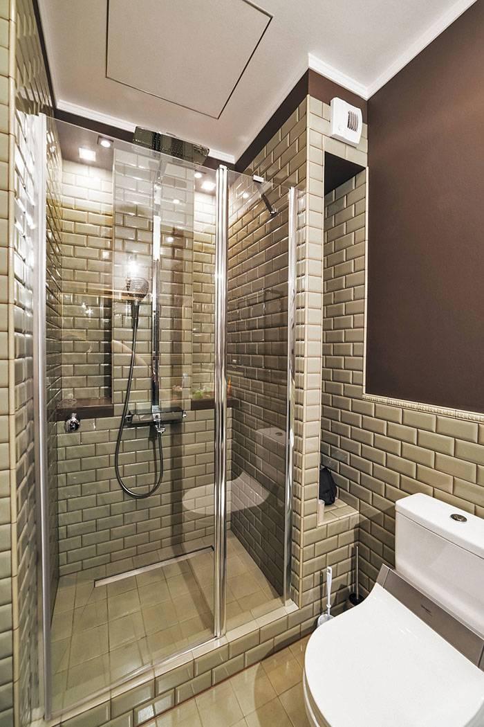 Ванная комната с душевой — примеры обустройства и оформления, сочетания цвета и стиля (фото + лучшие идеи)