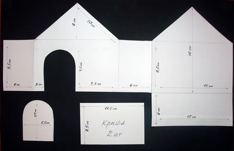 Домик из картона своими руками: интересные проекты и подробное описание их изготовления (150 фото)