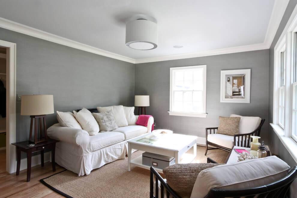 Серый интерьер гостиной: инструкция по подбору правильных оттенков. 200 фото примеров дизайна зала в серых тонах