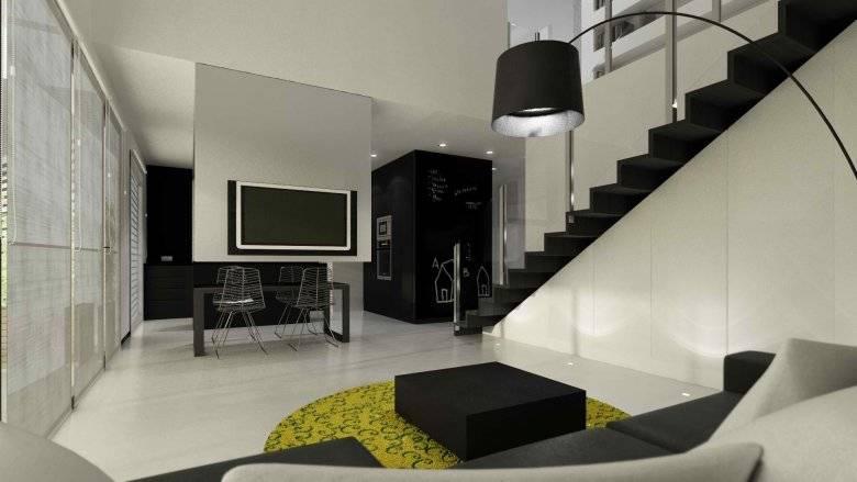Стены черного цвета - 100 фото лучших дизайнерских решений сочетания